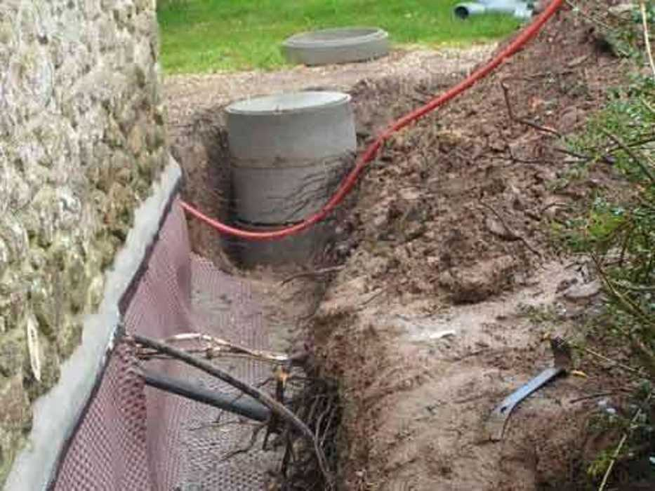 Travaux de drainage sur une longère à Saint-Pôtan b6155755d6a8