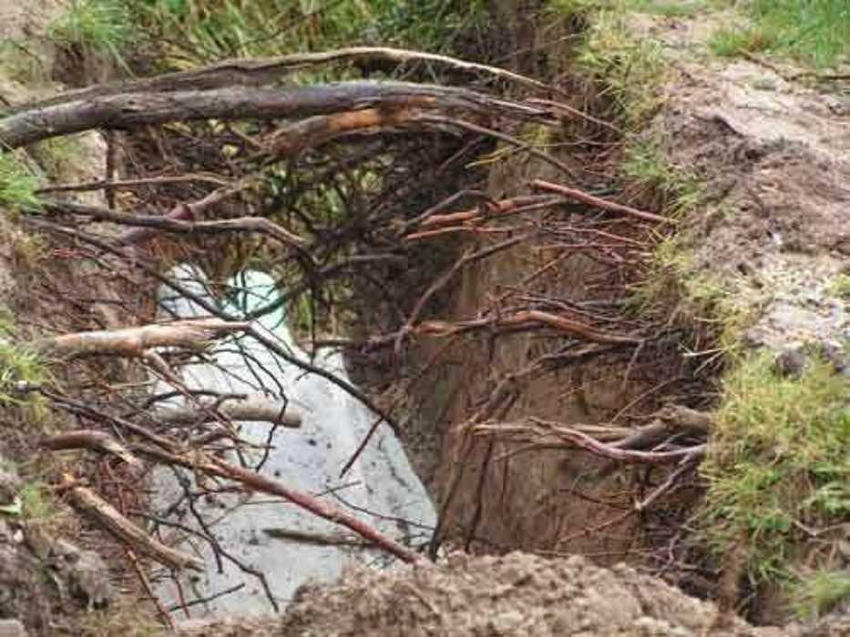 Travaux de drainage sur une longère à Saint-Pôtan f732cd9c7f0d