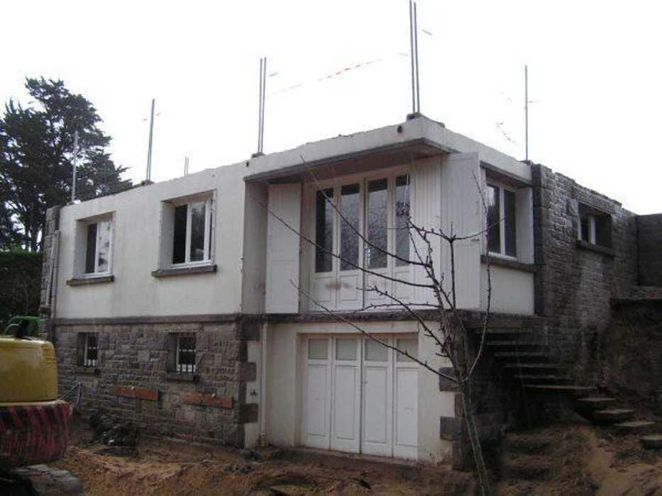 Déconstruction de la maison - charpente, niveau 1, niveau 2 fd2a8de30a13