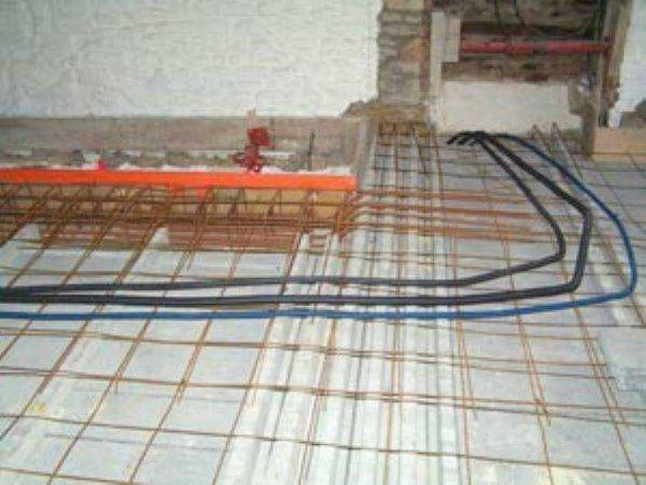 Réfection d''un plancher béton au-dessus d''un magasin à Dinan 73ce045dc479
